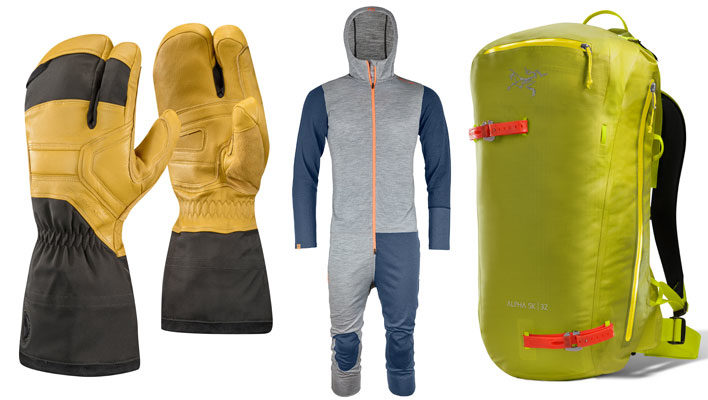 Deep Threads: Eight essentials for powder-day touring