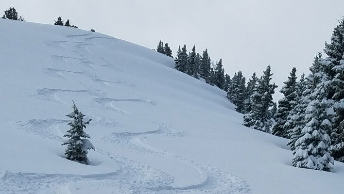 Summer Stashes: Lance Riek tags solstice powder in the Gallatin Range