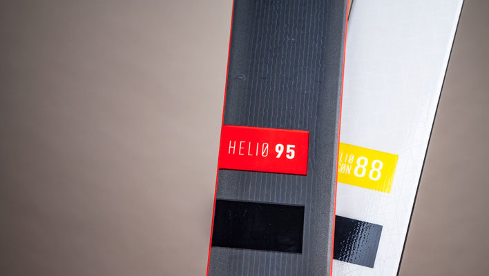 With the new Recon skis, Black Diamond doubles down on their Helio Line