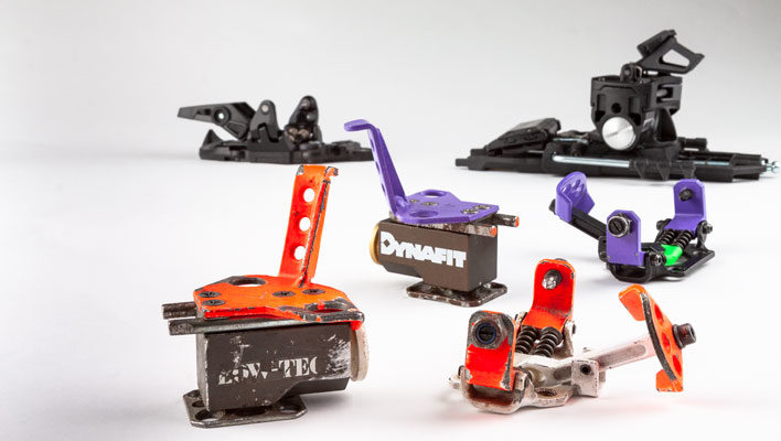 Dynafit bindings: From basement-made Low Tech to TÜV certified
