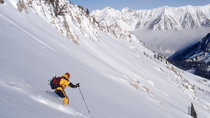 Andrew McLean: The Wasatch Straight Chuter