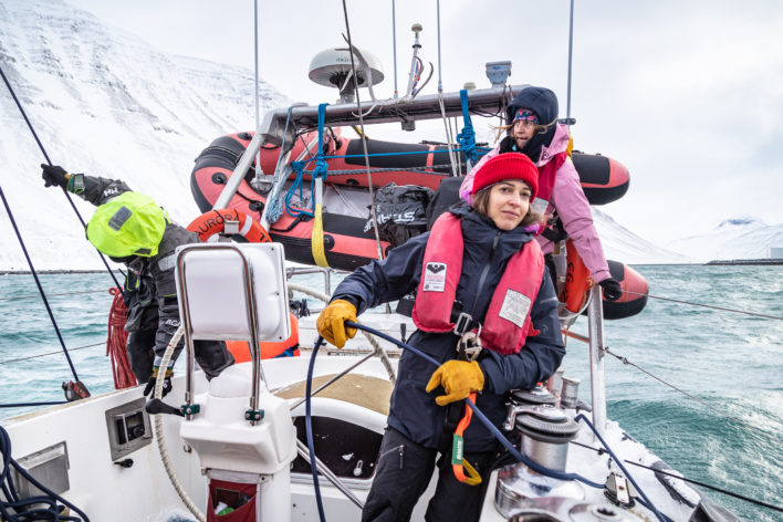 Iceland to Greenland and Back: Rerouted by COVID-19