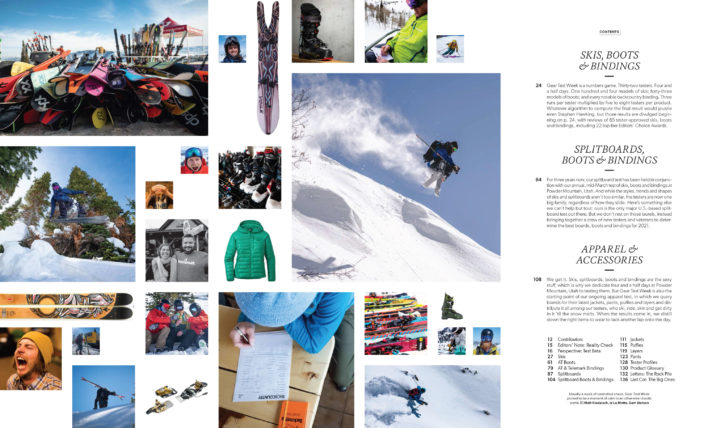 Subscribe today to get the 2021 Backcountry Gear Guide.