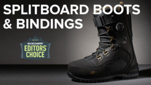 2021 Backcountry Editors Choice Splitboard Boots & Bindings