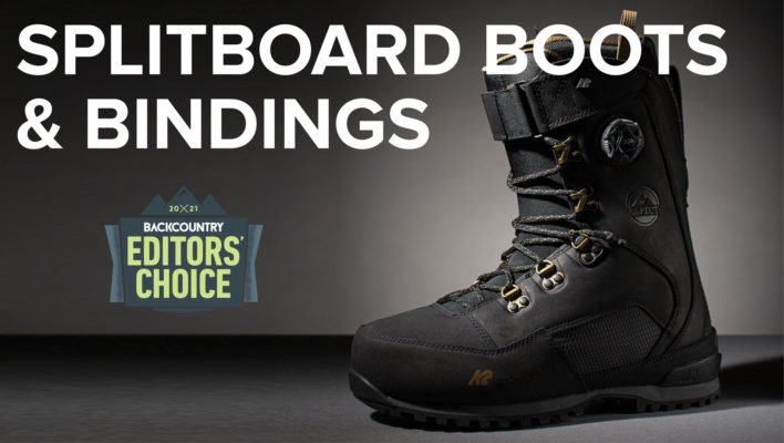 2021 Editors' Choice Awards: Splitboard Boots and Bindings