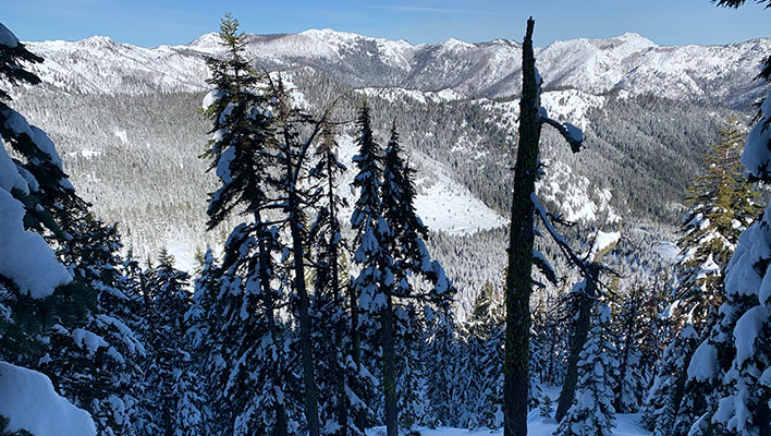 Oregon Skier Dies in Avalanche in California's Klamath National Forest