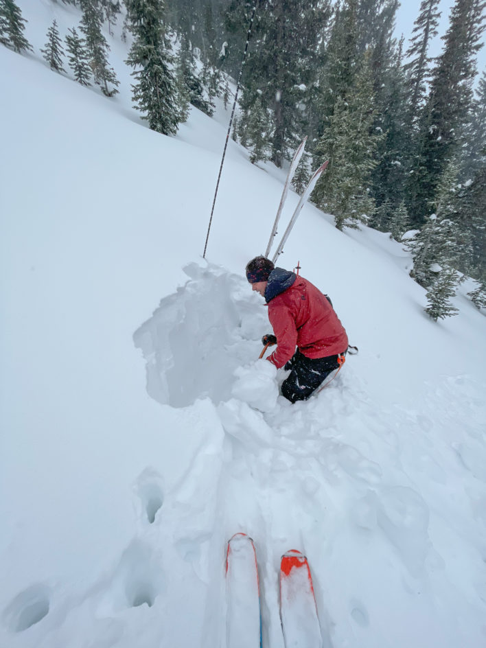 The Art of Doing Nothing in Avalanche Terrain