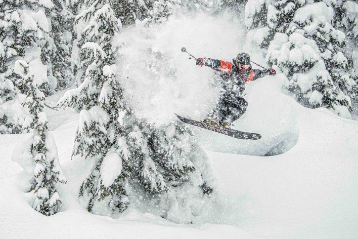 Sammy Carlson: Not Your Dad's Powder Turn